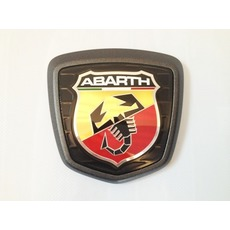 Fiat 500 Abarth znak-black
